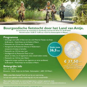 Bourgondische-fietsroute