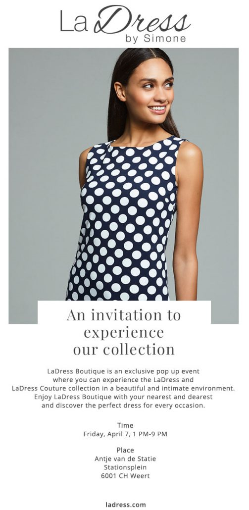 Ladress invitation