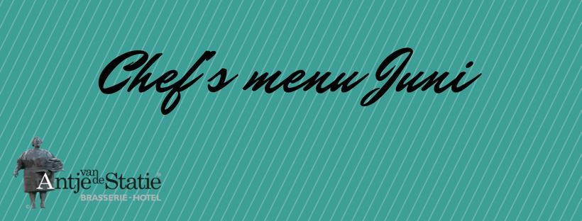 Chef's menu Juni
